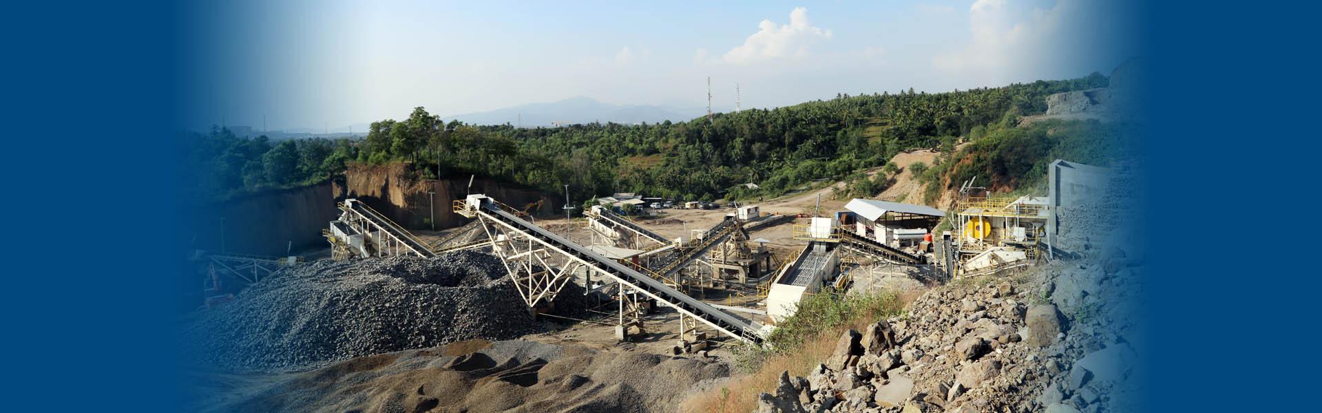 豪瑞印尼時產300噸安山岩制砂生產線