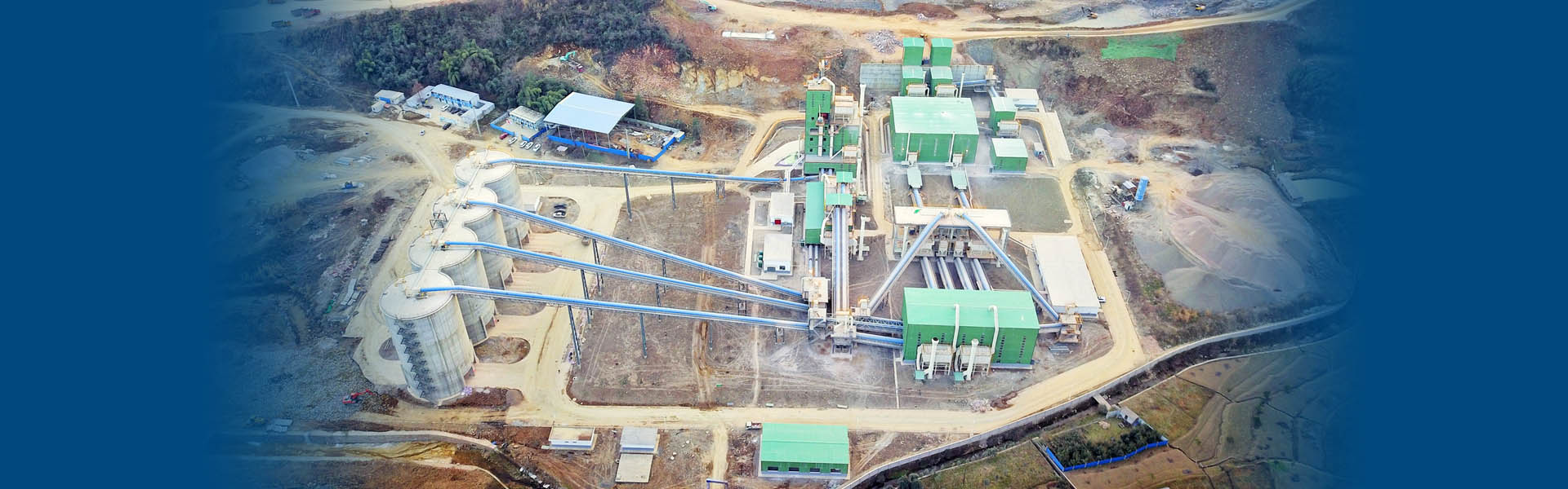 華新水泥時產2000噸骨料(liao)生(sheng)產EPCO項(xiang)目