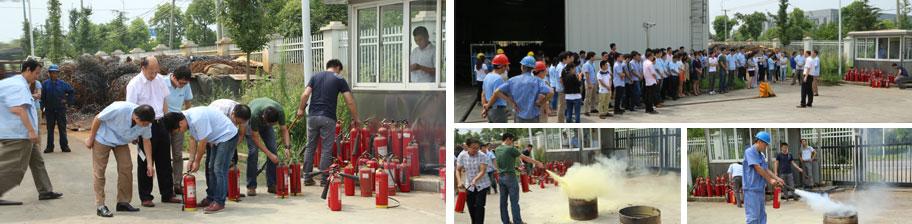 山美消防演习