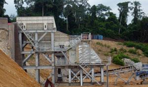 德国合作项目:喀麦隆花岗岩生产线