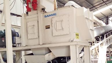 风选除轻物质系统:LS系列轻物质分离器