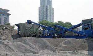 湖北武汉轮胎移动式建筑垃圾处理项目