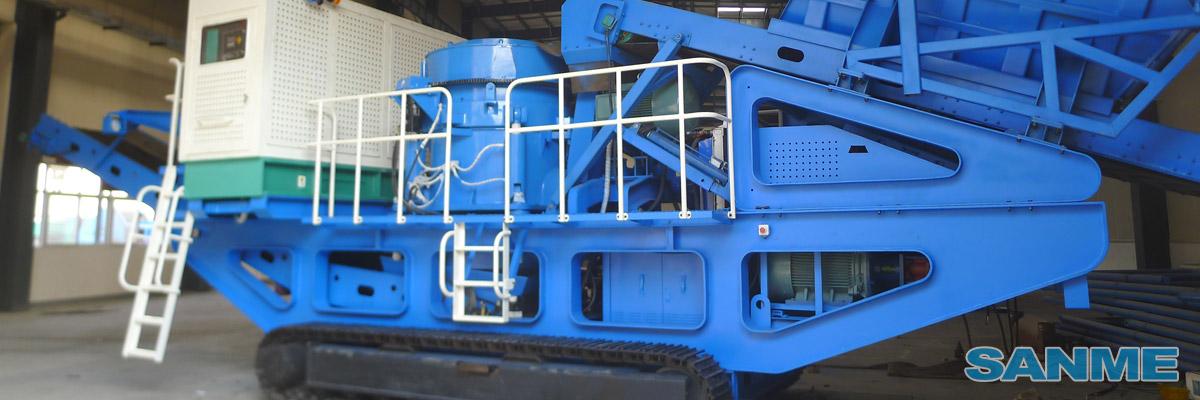 MP-C系列履带移动圆锥式破碎站