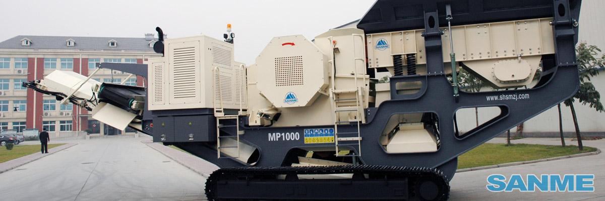 MP-J系列履带移动颚式破碎站