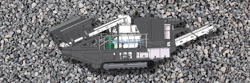MP-VSI系列履带移动立轴冲击式破碎站