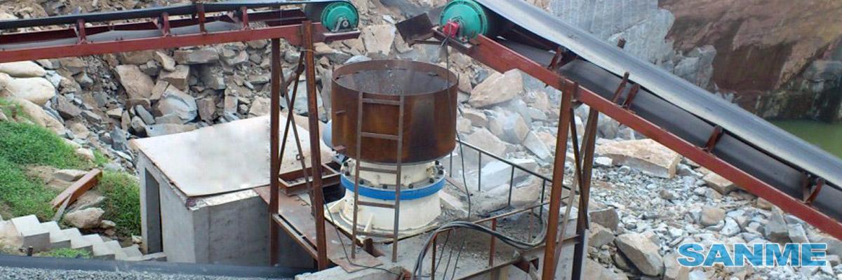 SMG系列单缸液压圆锥破碎机