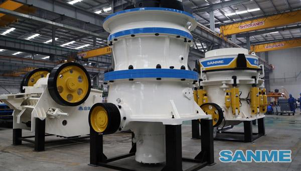 SMG系列底部单缸液压圆锥破碎机