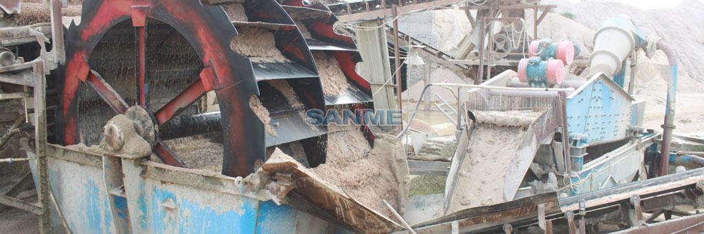 XS系列轮式洗砂机