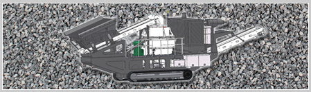 山美MP-VSI系列履带移动立轴冲击式破碎站
