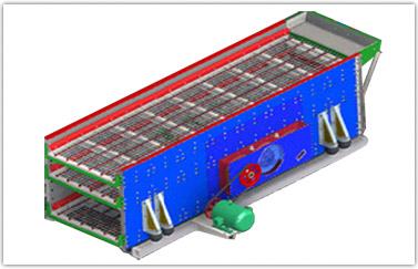 TES系列三轴椭圆振动筛
