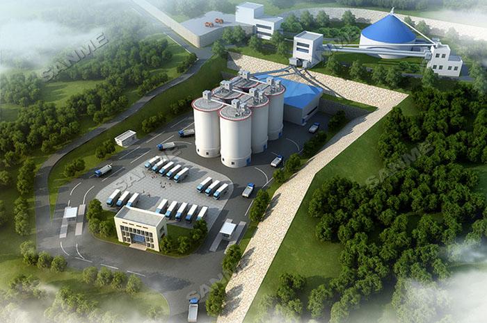 湖北(bei)年產500萬噸石灰石骨料生產線