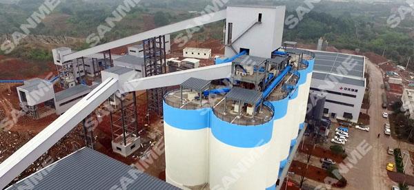 中天集团浙江金华时产300吨建筑垃圾资源化利用项目