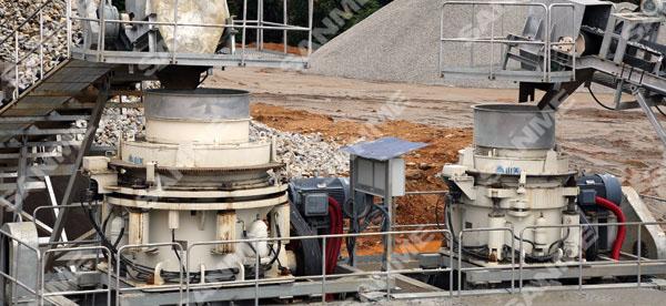 喀麦隆时产200吨花岗岩破碎生产线