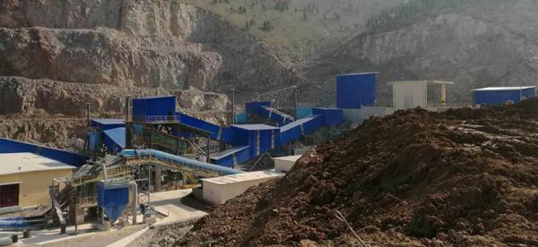 中联水泥时产500吨石灰石制砂生产线