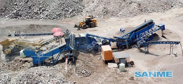 浙江东阳时产100吨移动式建筑垃圾处理现金网注册送68体验金线