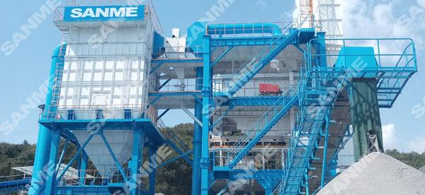 福建时产100吨花岗岩楼式机制砂生产线