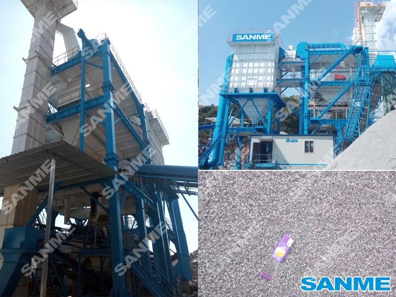 福建时产100吨花岗岩楼式机制砂生产线设备配置示意图