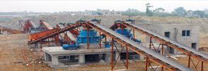 四川400吨河卵石制砂生产线