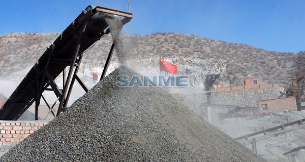 銅礦選礦生産線