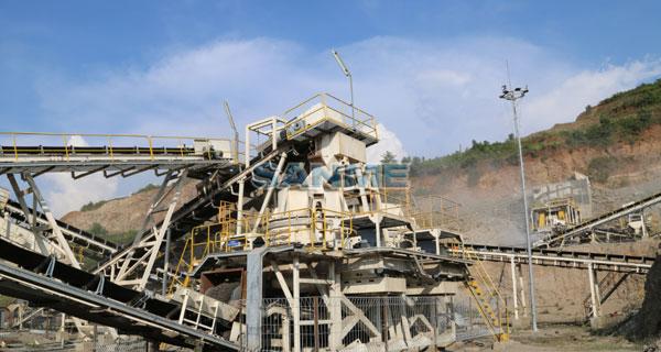安山岩制砂生产线