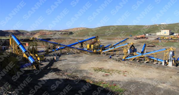 铁矿石破碎生产线