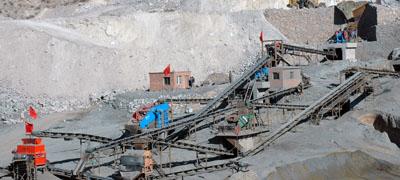 鐵礦石生産線