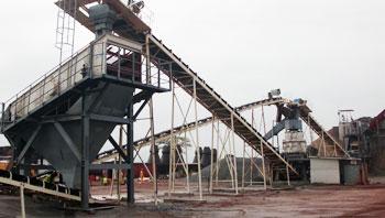 贝宁时产150吨花岗岩破碎生产线