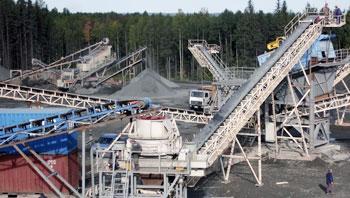 俄罗斯辉绿岩制砂生产线