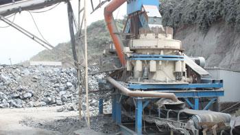 浙江时产500吨玄武岩制砂生产线