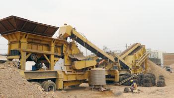 云南时产150吨移动式建筑垃圾破碎生产线