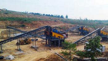 山东时产400吨花岗岩碎石生产线