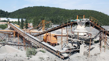 浙江时产350吨玄武岩制砂生产线