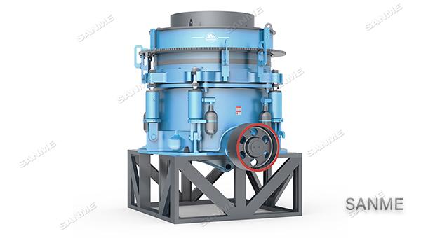 SMS系列多缸液压圆锥破碎机