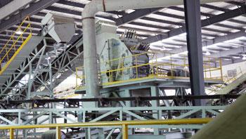 江苏武进时产250吨建筑废弃物资源化再利用生产线