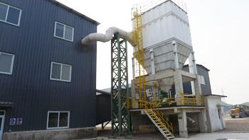 首钢年处理量100万吨建筑垃圾废弃物循环利用示范线