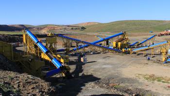 蒙古时产500吨铁矿石破碎生产线