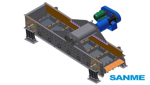 ZSWF、ZSFA系列重型给料筛
