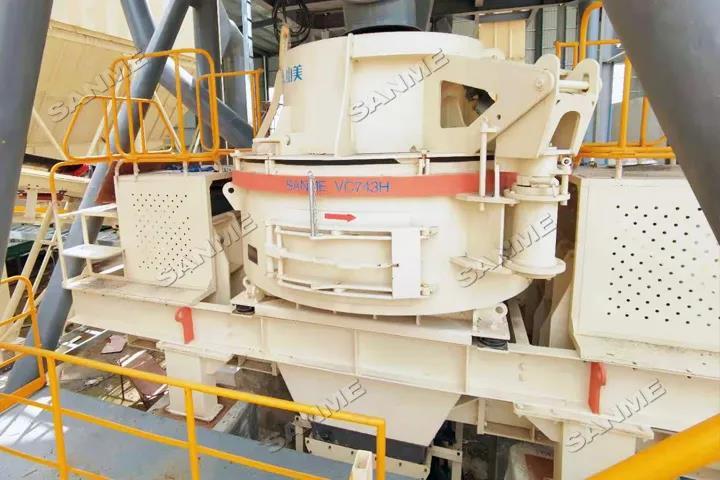 关注 上海山美股份承建的广州楼站式建筑固废制备机制砂项目即将调试投产