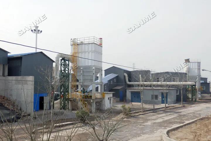 北京首钢建筑固废绿色循环再利用项目