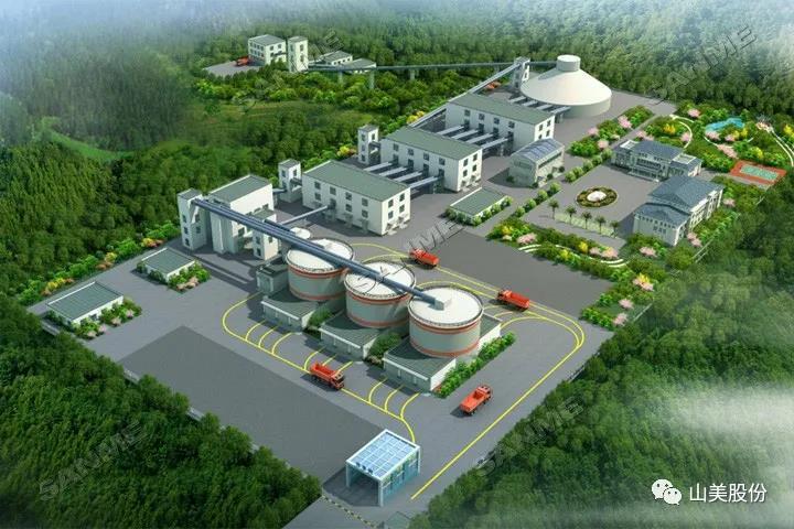 上海山美股份助力重庆大业建材绿色低碳智慧骨料工厂建设